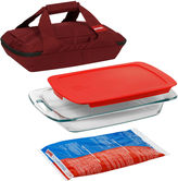 Pyrex Portables 4-pc. Bakeware Set