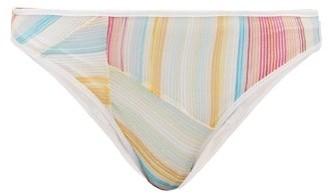 Missoni Mare - Rainbow-stripe Bikini Briefs - Womens - Multi