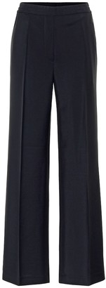 Acne Studios High-rise wool-blend straight pants