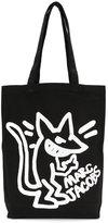 Marc Jacobs stinky rat print canvas bag