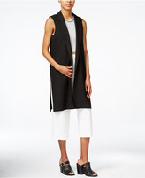 Bar III Open-Front Maxi Vest, Only at Macy's