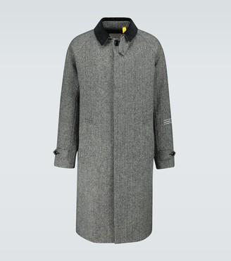 MONCLER GENIUS 7 MONCLER FRAGMENT long overcoat