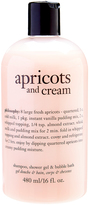philosophy Apricots & Cream 16-Oz. 3-in-1 Shampoo Shower Gel & Bubble Bath
