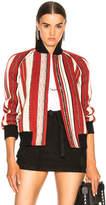 Saint Laurent Reversible Teddy Bomber Jacket