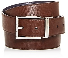 Bally Men's Astor Embossed Leather Reversible Belt