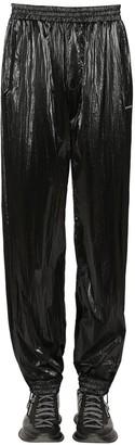 Givenchy Washed Velvet Effect Nylon Pants