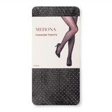 Merona Women's Tights Fishnet Dot Black Collection