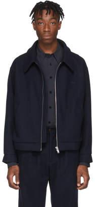 Second/Layer Navy Barras Jacket