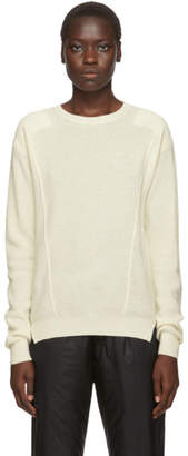 Ambush Off-White Waffle Knit Crewneck Sweater