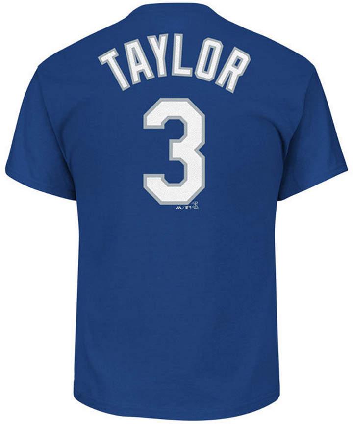 Majestic Men Chris Taylor Los Angeles Dodgers Official Player T-Shirt