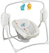 Fisher-Price SpaceSaver Swing and Seat Lion & Elephant Baby/Kids BFX349993
