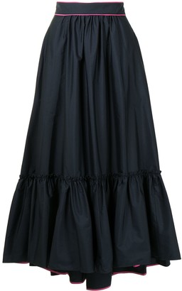 Roksanda Tiered Maxi Skirt