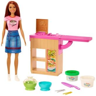Mattel Barbie Noodle Maker Doll and Playset