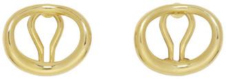 Charlotte Chesnais Gold Naho Clip-On Earrings