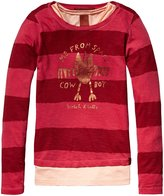 Scotch & Soda Kids 2-In-1 Tee With Inner Tank (Kid) - Red-4