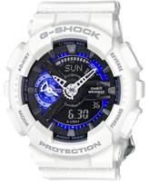 G-Shock S Series White Resin Watch, GMAS110CW7A3