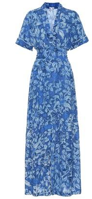 Poupette St Barth Rachel floral maxi dress