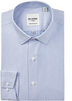 Ben Sherman Long Sleeve Skinny Fit Dobby Dress Shirt