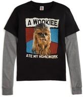 Junk Food Clothing Boys' Wookiee Tee