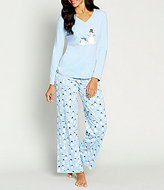 Sleep Sense Holiday Dancing Snowmen Pajamas