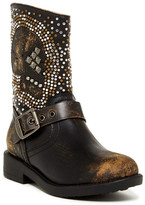 Frye Jenna Skull Short Boot (Little Kid & Big Kid)