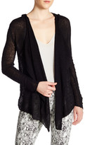 philosophy Long Sleeve Hooded Cardigan