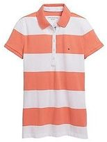 Tommy Hilfiger Women's Heritage Fit Multistripe Polo