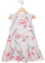 Fendi Girls' Pleated A-Line Dress