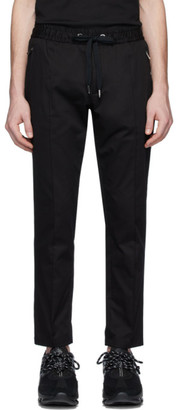 Dolce & Gabbana Black Stretch Gabardine Trousers