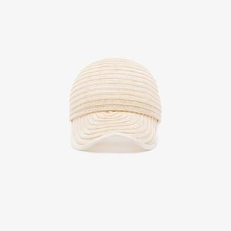 D ESTREE white Raymond straw cap