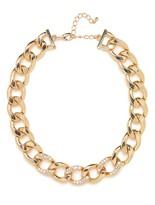 BaubleBar Gold Ice Chain Collar