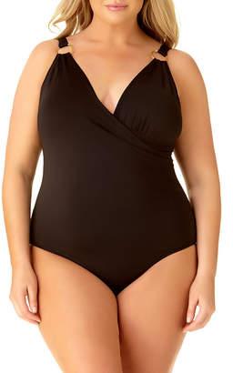 Liz Claiborne One Piece Swimsuit Plus
