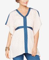 Rachel Zoe Maternity Printed V-Neck Tunic