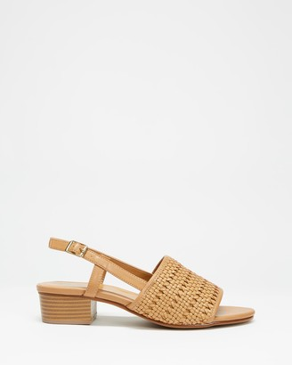 Spurr Women's Brown Heeled Sandals - Ios Heels - Size 5 at The Iconic