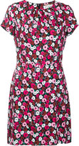 Saint Laurent Anemone print dress - women - Silk/Viscose - 40