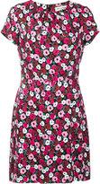 Saint Laurent Anemone print dress - women - Silk/Viscose - 40