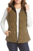 Karen Kane Women's Quilted Vest