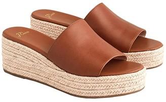J.Crew Vachetta Camilla Espadrille Slide (Warm Sepia) Women's Shoes