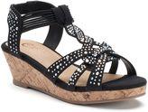 Candies Candie's® Girls' Beaded Wedge Sandals