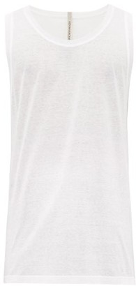 Aldo Maria Camillo - Cotton-jersey Tank Top - Mens - White