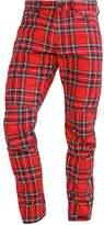Gstar Pharrell Williams Gstar Elwood X25 3d Trousers Milk/pompeian Red Check
