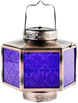 Very Purple Glass Moroccan Lantern