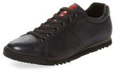 Prada Low Top Leather Sneaker