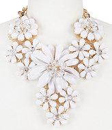Natasha Accessories Flower Statement Necklace