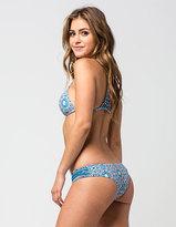 Full Tilt Ancient And Holly Strap Side Bikini Bottoms