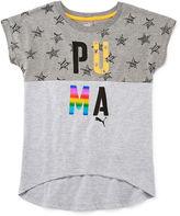 Puma Short-Sleeve Starry Graphic Tee - Girls 7-16