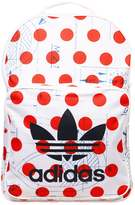 adidas CLASSIC Rucksack white/bright orange