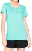 Icebreaker Aero Shirt - UPF 20+, Merino Wool, Short Sleeve (For Women)