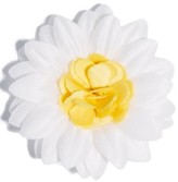 hook + ALBERT Men's Satin Daisy Lapel Flower