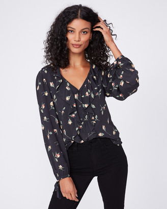 Paige Russo Blouse-Black - Night Garden